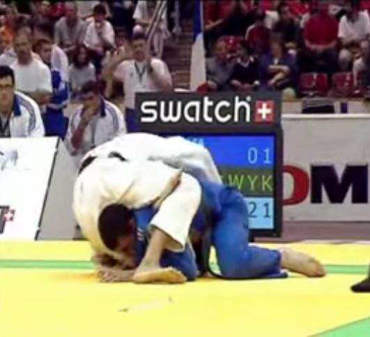 Judo ne-waza International fight