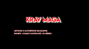 Présentation Shinbudo Krav Maga